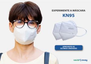 Experimente a máscara KN95